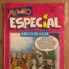Tebeos: MORTADELO ESPECIAL JUEGOS DE AZAR (EDITORIAL BRUGUERA 1986).. Lote 194248680