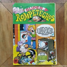 Tebeos: SUPER ROMPETECHOS N 9 BRUGUERA 1980 COMPLETO. Lote 194287601