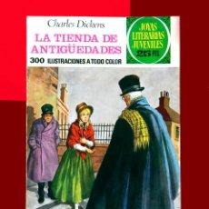 Tebeos: JOYAS LITERARIAS JUVENILES, Nº 154 - LA TIENDA DE ANTIGÜEDADES - 1ª EDICIÓN 1976 - BRUGUERA. Lote 194294502