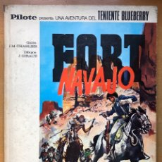 Tebeos: TENIENTE BLUEBERRY. FORT NAVAJO. Lote 194305583