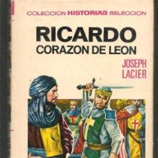 Tebeos: HISTORIAS SELECCIÓN. HISTORIA Y BIOGRAFÍA. Nº 29. RICARDO CORAZÓN DE LEÓN. BRUGUERA.(ST/MG/BL3). Lote 194330677
