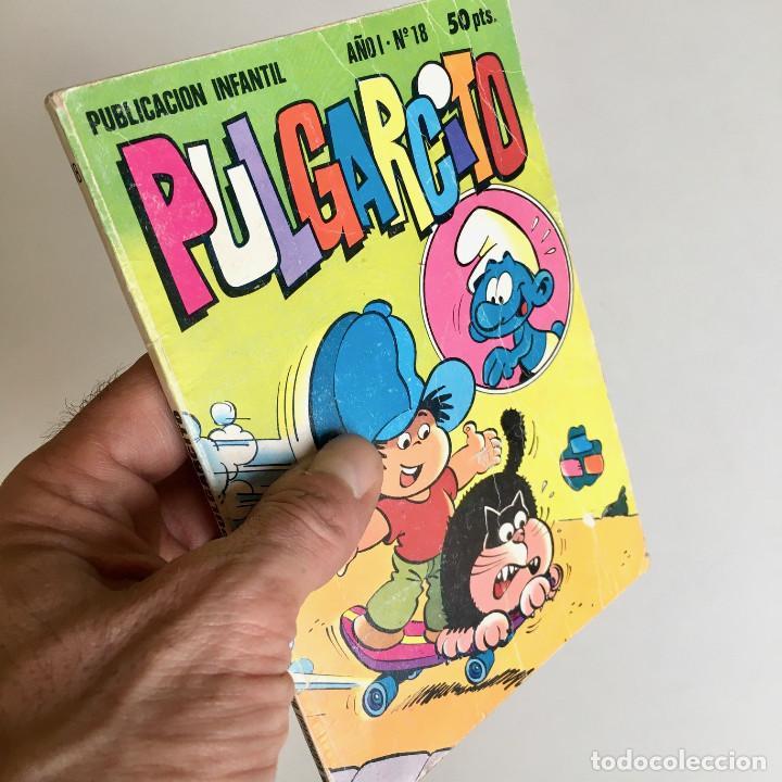 REVISTA DE CÓMICS PULGARCITO, AÑO I, Nº 18, EDITORIAL BRUGUERA 1981 (Tebeos y Comics - Bruguera - Pulgarcito)