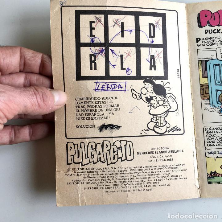 Tebeos: Revista de cómics PULGARCITO, año I, nº 18, editorial Bruguera 1981 - Foto 4 - 194345370