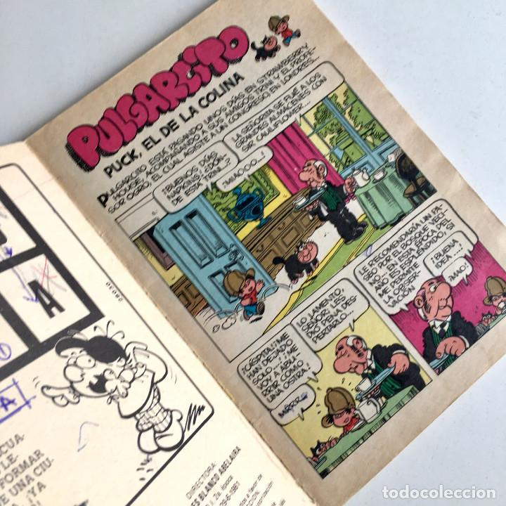 Tebeos: Revista de cómics PULGARCITO, año I, nº 18, editorial Bruguera 1981 - Foto 5 - 194345370