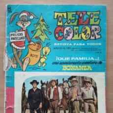 Tebeos: TELE COLOR Nº 143 ALMANAQUE 1966 NESTLE, TODDY. Lote 194373055