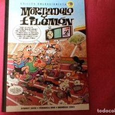 Tebeos: MORTADELO Y FILEMON, EDICION COLECCIONISTA. NUM 12. SYDNEY 2000. FORMULA UNO .MUNDIAL 2000. NUEVO .. Lote 194376393