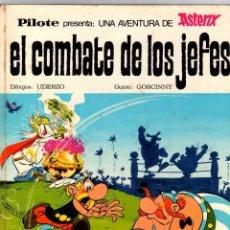 Tebeos: ASTERIX. EL COMBATE DE LOS JEFES. EDITORIAL BRUGUERA, 1969. Lote 194387971