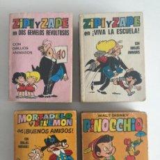 Tebeos: - ¡¡ LIQUIDACION !! - LOTE 4 EJEMPLARES MINI INFANCIA SURTIDOS - BRUGUERA. Lote 194391775