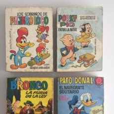 Tebeos: - ¡¡ LIQUIDACION !! - LOTE 4 EJEMPLARES TELE INFANCIA SURTIDOS - BRUGUERA. Lote 194392157