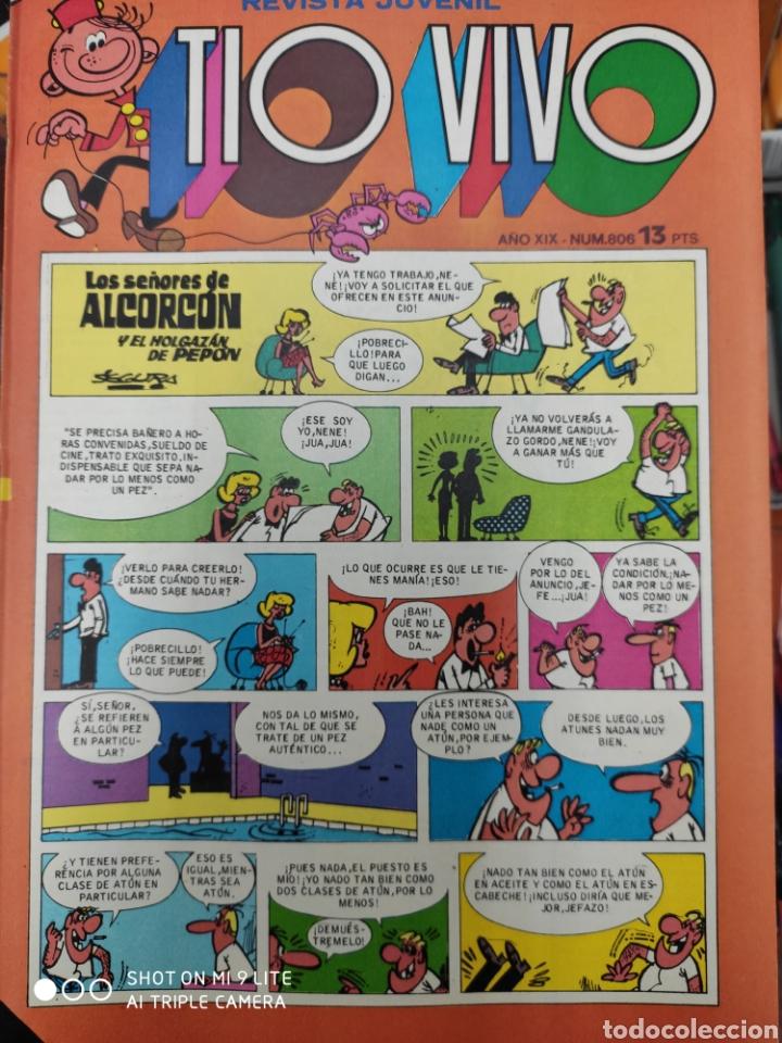 TÍO VIVO 806 AÑO XIX (Tebeos y Comics - Bruguera - Tio Vivo)