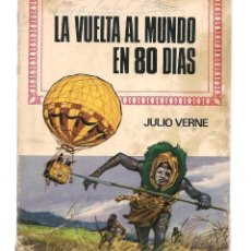 Tebeos: HISTORIAS INFANTIL. Nº 29. LA VUELTA AL MUNDO EN 80 DIAS. JULIO VERNE.BRUGUERA, 1ª EDC. 1969. (ST/S). Lote 194399428