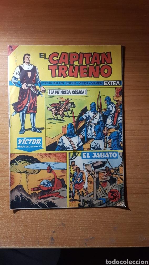 EL CAPITAN TRUENO EXTRA Nº 333 EDITORIAL BRUGUERA ORIGINAL (Tebeos y Comics - Bruguera - Capitán Trueno)