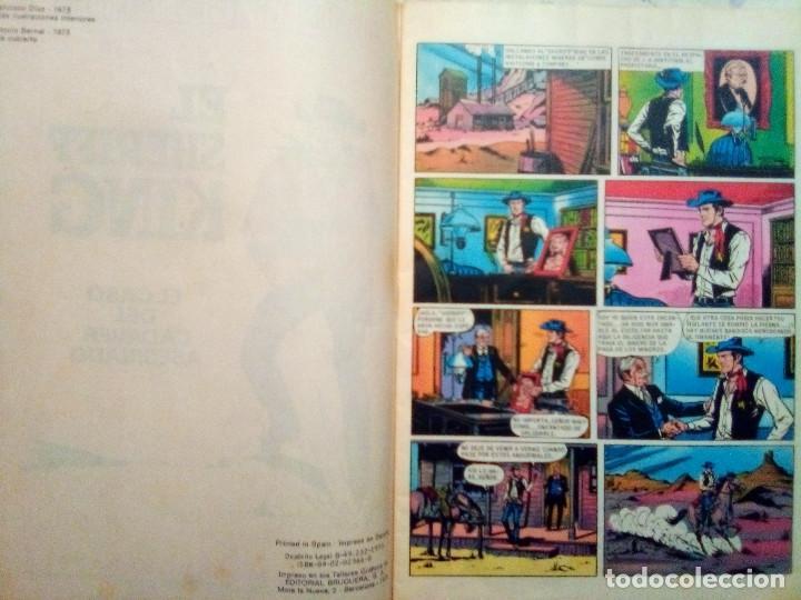 Tebeos: EL SHERIFF KING-GRANDES AVENTURAS JUVENILES- Nº 38 -EL CASO DEL CADÁVER ASESINADO-1973-DIFíCIL-3807 - Foto 4 - 219387107