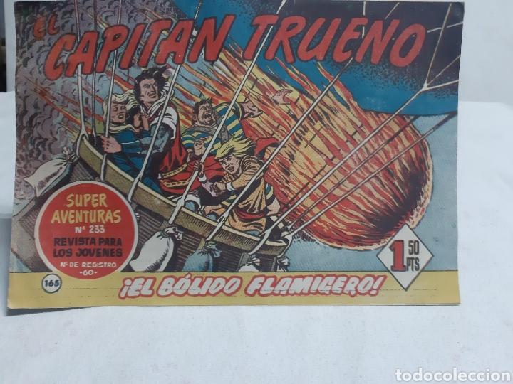 EL CAPITÁN TRUENO SUPER AVENTURAS NÚMERO 233 AÑO 1959 EDICIONES BRUGUERA (Tebeos y Comics - Bruguera - Capitán Trueno)