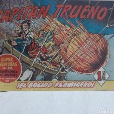 Tebeos: EL CAPITÁN TRUENO SUPER AVENTURAS NÚMERO 233 AÑO 1959 EDICIONES BRUGUERA. Lote 194521450