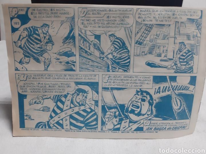 Tebeos: El Capitán Trueno super aventura número 267 año 1960 ediciones Bruguera - Foto 2 - 194521838