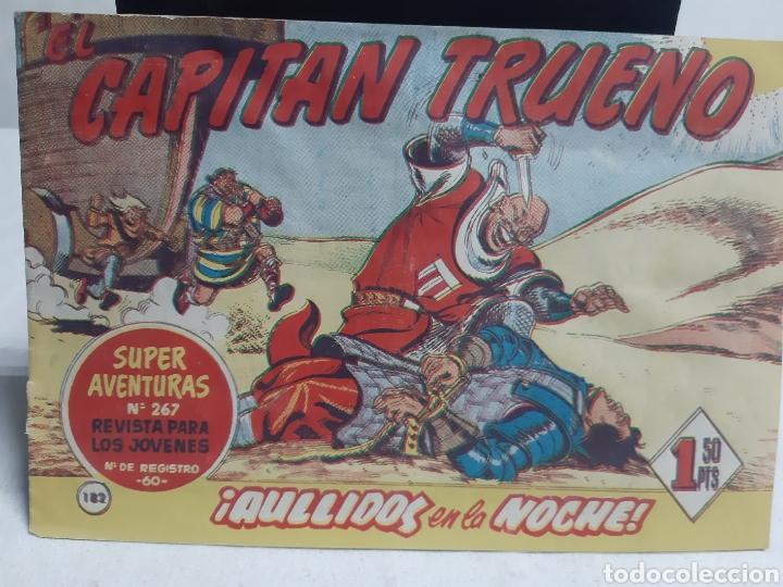 EL CAPITÁN TRUENO SUPER AVENTURA NÚMERO 267 AÑO 1960 EDICIONES BRUGUERA (Tebeos y Comics - Bruguera - Capitán Trueno)