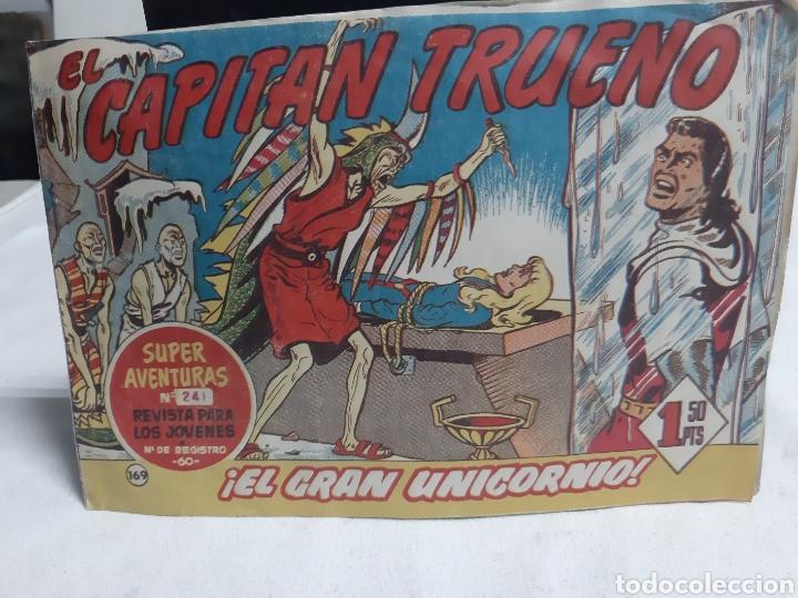 EL CAPITÁN TRUENO SUPER AVENTURAS NÚMERO 241 AÑO 1960 EDITORIAL BRUGUERA (Tebeos y Comics - Bruguera - Capitán Trueno)
