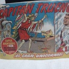 Tebeos: EL CAPITÁN TRUENO SUPER AVENTURAS NÚMERO 241 AÑO 1960 EDITORIAL BRUGUERA. Lote 194522308