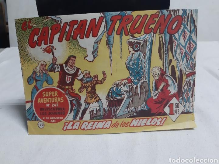 EL CAPITÁN TRUENO SUPER AVENTURAS NÚMERO 243 AÑO 1959 EDITORIAL BRUGUERA (Tebeos y Comics - Bruguera - Capitán Trueno)