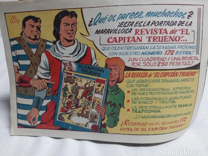 Tebeos: El Capitán Trueno super aventuras número 245 año 1959 ediciones Bruguera - Foto 2 - 194523105