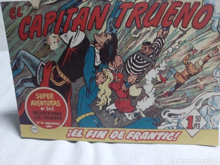 EL CAPITÁN TRUENO SUPER AVENTURAS NÚMERO 245 AÑO 1959 EDICIONES BRUGUERA (Tebeos y Comics - Bruguera - Capitán Trueno)