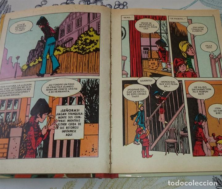 Tebeos: SUPER ESTHER TOMO POCKET N.º 2 Ed. BRUGUERA 1 EDICION 1982 Pasta dura Defectos en el lomo - Foto 2 - 194523637
