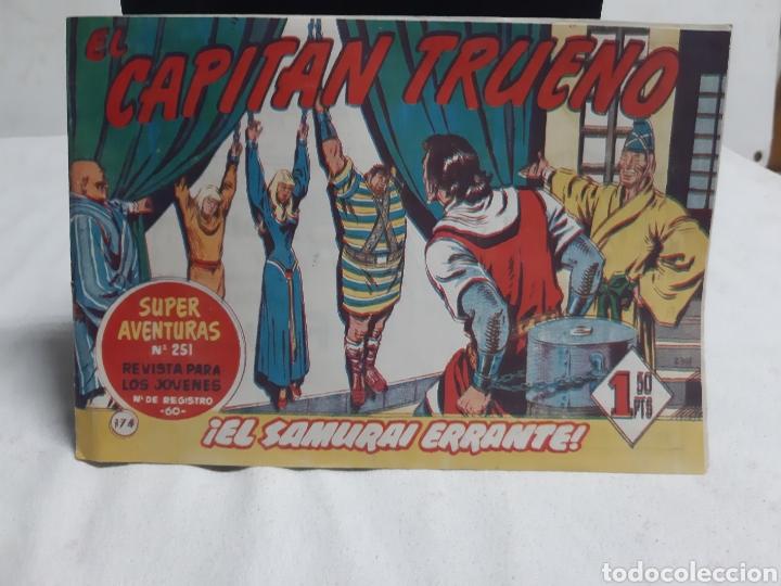 EL CAPITÁN TRUENO SUPER AVENTURAS NÚMERO 251 AÑO 1960 EDICIONES BRUGUERA (Tebeos y Comics - Bruguera - Capitán Trueno)