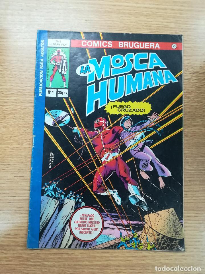 LA MOSCA HUMANA #4 (Tebeos y Comics - Bruguera - Otros)