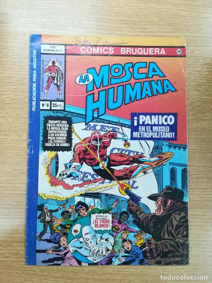 LA MOSCA HUMANA #8 (Tebeos y Comics - Bruguera - Otros)