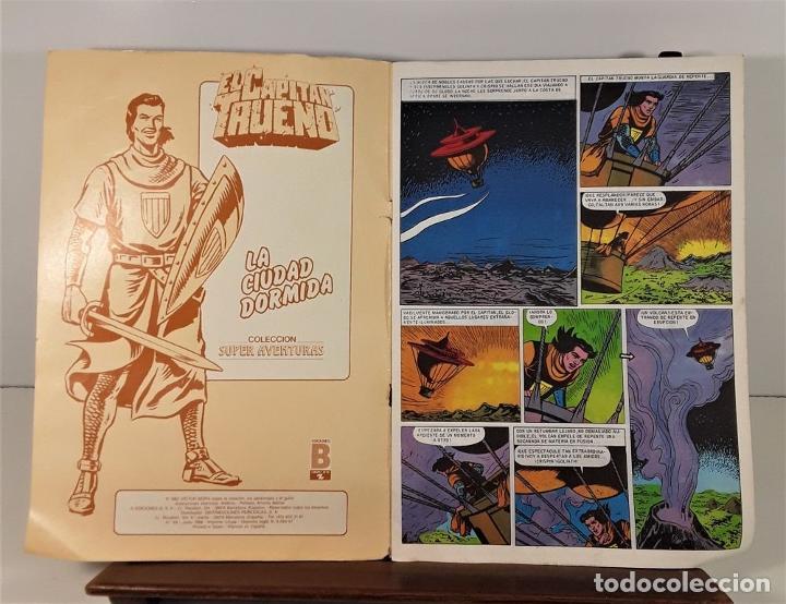 Tebeos: EL CAPITÁN TRUENO. 68 EJEMPLARES. EDIC. B. BARCELONA. 1987/1988. - Foto 2 - 163344450