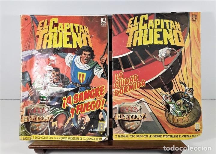 Tebeos: EL CAPITÁN TRUENO. 68 EJEMPLARES. EDIC. B. BARCELONA. 1987/1988. - Foto 5 - 163344450