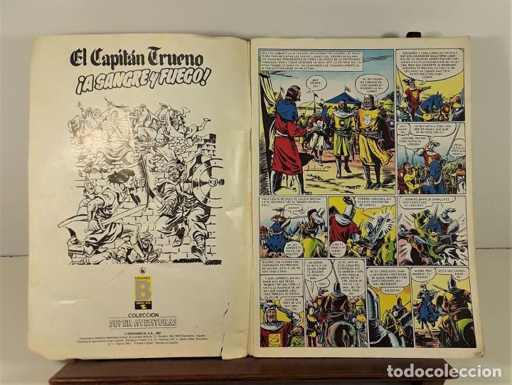 Tebeos: EL CAPITÁN TRUENO. 68 EJEMPLARES. EDIC. B. BARCELONA. 1987/1988. - Foto 7 - 163344450