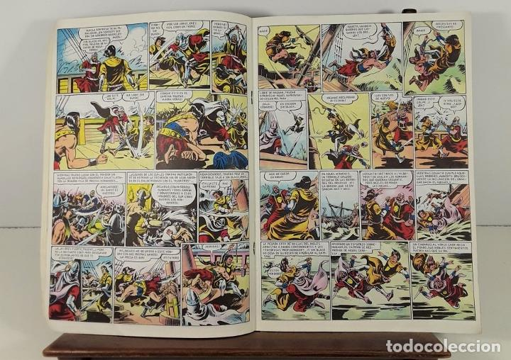 Tebeos: EL CAPITÁN TRUENO. 68 EJEMPLARES. EDIC. B. BARCELONA. 1987/1988. - Foto 8 - 163344450