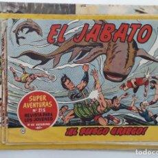 Tebeos: LOTE BRUGUERA, AÑOS 60 (EL JABATO, CAPITÁN TRUENO, CAN CAN, ETC) 31 EJEMPLARES (VER RELACIÓN). Lote 194540591