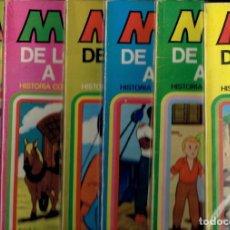 Tebeos: MARCO DE LOS APENINOS A LOS ANDES N,1,2,3,5,6,7,9,10 Y 11 EDITORIAL BURGUERA. Lote 194560943