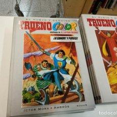 Tebeos: EL NUEVO Y GENUINO TRUENO COLOR / VICTOR MORA- AMBROS / EDICIONES B 2009-2018 / COMPLETO. Lote 194565672