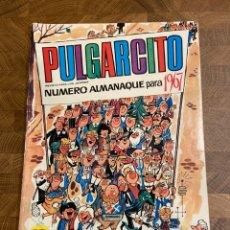 Tebeos: PULGARCITO-ALMANAQUE PARA 1967- SHERIFF KING-MORTADELO-ANACLETO-CARPANTA-BUENO-MUY DIFÍCIL. Lote 194593517