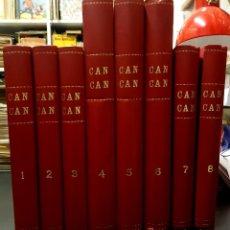 Tebeos: CAN-CAN 2ª SERIE (BRUGUERA, 1963) COLECCIÓN COMPLETA: 230 NÚMEROS ENCUADERNADA EN 8 TOMOS. Lote 194675708