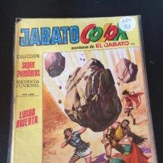 Giornalini: BRUGUERA JABATO COLOR SEGUNDA EPOCA NUMERO 124 NORMAL ESTADO - OFERTA 3. Lote 194688486