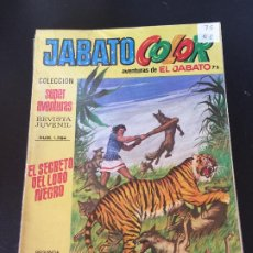 Giornalini: BRUGUERA JABATO COLOR SEGUNDA EPOCA NUMERO 75 NORMAL ESTADO - OFERTA 3. Lote 194689042