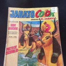 Giornalini: BRUGUERA JABATO COLOR SEGUNDA EPOCA NUMERO 62 NORMAL ESTADO - OFERTA 3. Lote 194689186