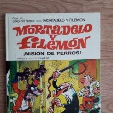 Tebeos: MORTADELO Y FILEMON. ¡MISION DE PERROS! / BRUGUERA. 1978 . Lote 194698510