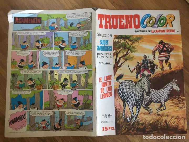 TRUENO COLOR 84 - SEGUNDA EPOCA - BRUGUERA, ORIGINAL - GCH1 (Tebeos y Comics - Bruguera - Capitán Trueno)