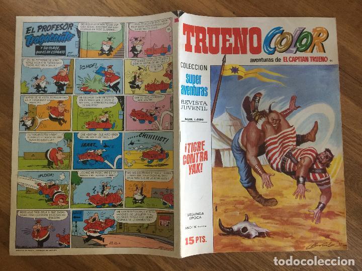 TRUENO COLOR 91 - SEGUNDA EPOCA - BRUGUERA, ORIGINAL - GCH1 (Tebeos y Comics - Bruguera - Capitán Trueno)