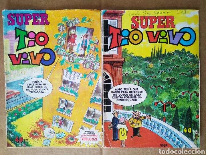LOTE SÚPER TÍO VIVO: NÚMEROS 77-84 (BRUGUERA, 1979). (Tebeos y Comics - Bruguera - Tio Vivo)