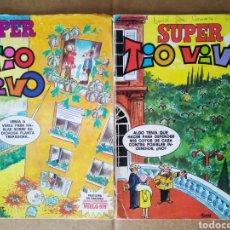 Tebeos: LOTE SÚPER TÍO VIVO: NÚMEROS 77-84 (BRUGUERA, 1979).. Lote 194706826