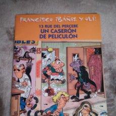 Tebeos: 13 RUE DEL PERCEBE. UN CASERÓN DE PELICULÓN, FRANCISCO IBAÑEZ Y OLÉ, EDICIONES B 2001.. Lote 194726027