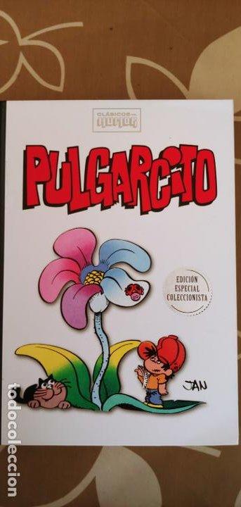 CLÁSICOS DEL HUMOR RBA PULGARCITO JAN NUEVO DE KIOSKO (Tebeos y Comics - Bruguera - Otros)