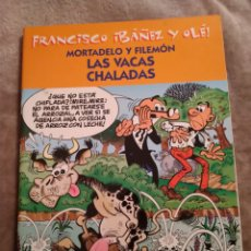Tebeos: MORTADELO Y FILEMÓN. LAS VACAS CHALADAS, FRANCISCO IBAÑEZ Y OLÉ, EDICIONES B 2001.. Lote 194727593
